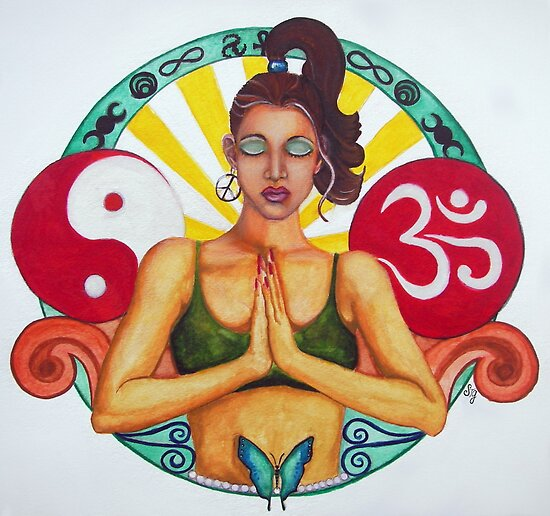 Namaste by Sandra Gale