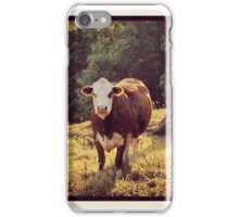 Bovine Days iPhone Case/Skin