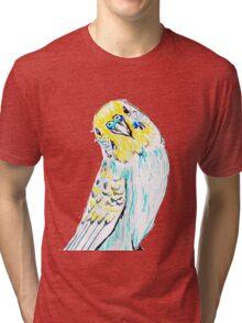 Budgie in Love Tri-blend T-Shirt