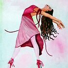 The Ballet in Pink by Sandra Gale