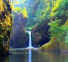 Punch Bowl Falls by AdventureGuy