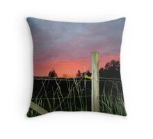 OREGON SUNSET Throw Pillow