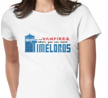 Time Lords over Vampires Womens Fitted T-Shirt