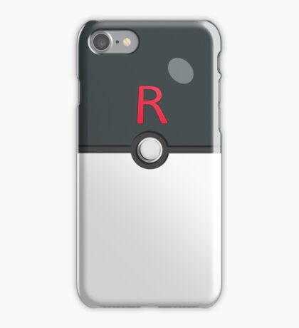 Team Rocket Ball! iPhone Case/Skin