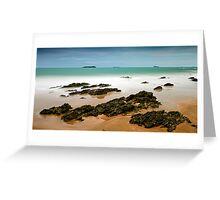 Emerald Shore Greeting Card