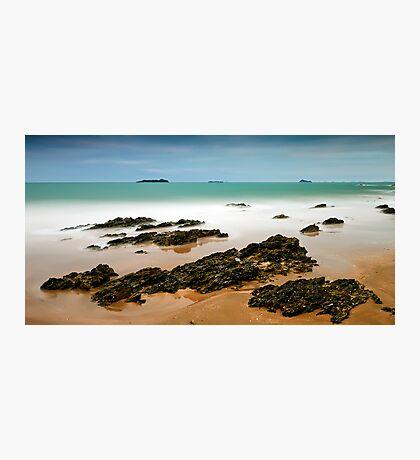 Emerald Shore Photographic Print