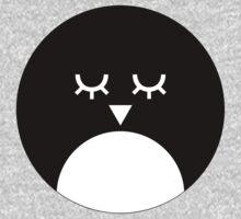 Snowy Penguin One Piece - Short Sleeve