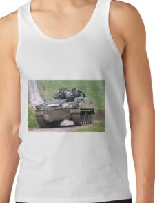 British Army Warrior Infantry Fighting Vehicle Tank Top