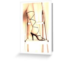 First Step On The Ladder Greeting Card