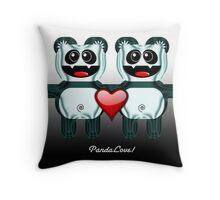 PANDA LOVE Throw Pillow