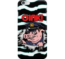 oink ripper iPhone Case/Skin