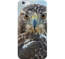 Red Tailed Hawk Close Up iPhone Case/Skin