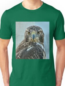 Red Tailed Hawk Close Up Unisex T-Shirt