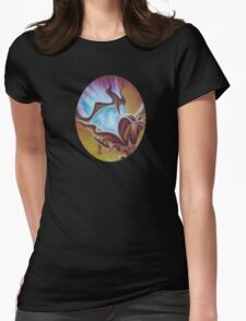 Night Light Womens Fitted T-Shirt