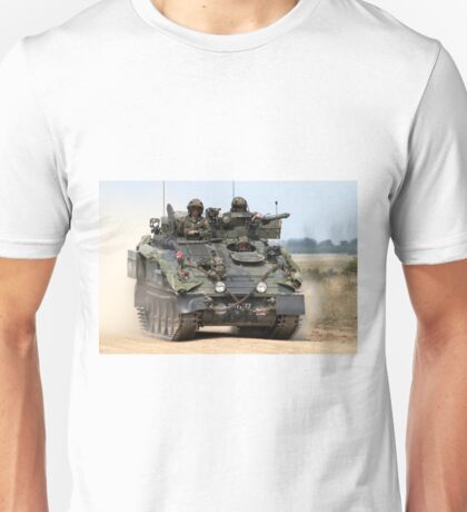 British Army FV103 Spartan Armoured Personnel Carrier Unisex T-Shirt