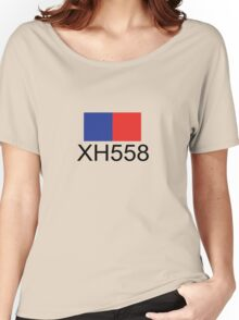 Vulcan Bomber XH558 Women's Relaxed Fit T-Shirt