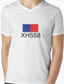 Vulcan Bomber XH558 Mens V-Neck T-Shirt