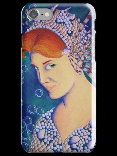 Syreen phone case by Kestrelle