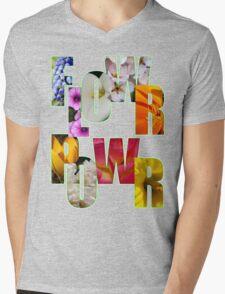 flower power t Mens V-Neck T-Shirt