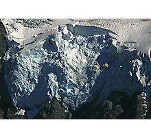 glacier face detail Photographic Print