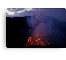 Yasur Volcano erupting Canvas Print