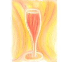 Golden Delight in a Glass Photographic Print