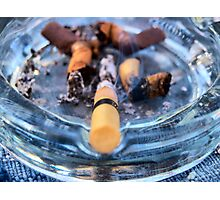 Cigarette Photographic Print