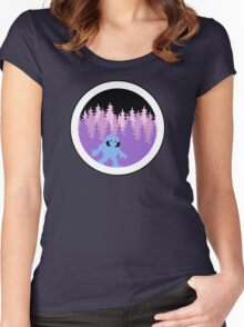 Wampa by Night  Women's Fitted Scoop T-Shirt