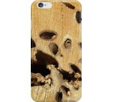 Wood texture pattern  iPhone Case/Skin