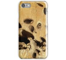 Wood texture pattern  iPhone Case/Skin