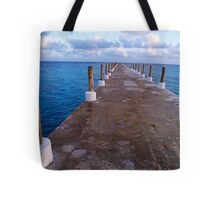 Jetty At Sunrise Tote Bag