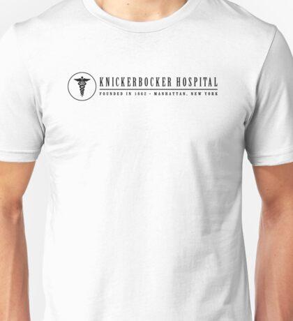 The Knick - Caduceus - Black Clean Unisex T-Shirt