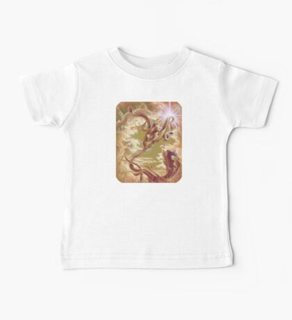 Silver Ivy, Surreal Nature Baby Tee
