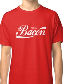 ENJOY BACON RED AND WHITE CLASSIC Classic T-Shirt