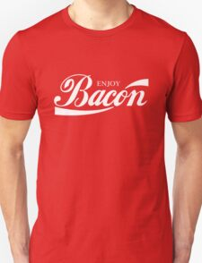 ENJOY BACON RED AND WHITE CLASSIC T-Shirt