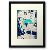 The Laundromat  Framed Print