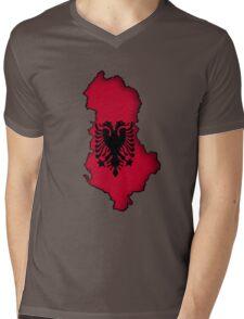 Zammuel's Country Series - Albania (Blank) Mens V-Neck T-Shirt