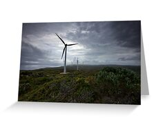 Wind Farm - Albany Western Australia Greeting Card