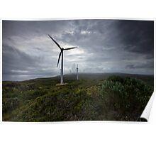 Wind Farm - Albany Western Australia Poster
