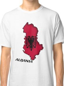 Zammuel's Country Series - Albania (English text) Classic T-Shirt