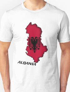 Zammuel's Country Series - Albania (English text) T-Shirt