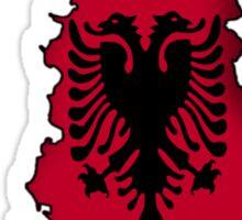 Zammuel's Country Series - Albania (English text) Sticker