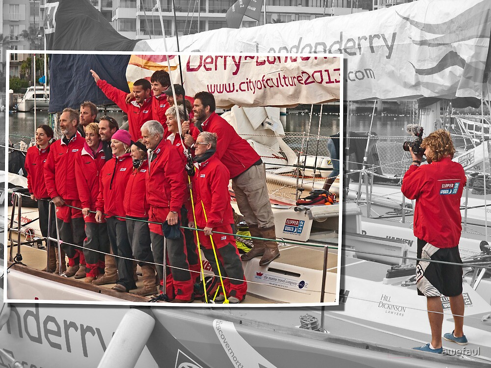 The team from Londonderry by awefaul