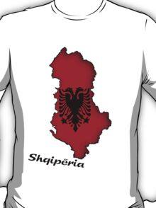 Zammuel's Country Series - Albanian (Albanian text) T-Shirt