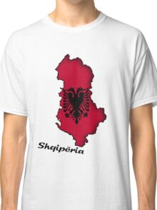 Zammuel's Country Series - Albanian (Albanian text) Classic T-Shirt