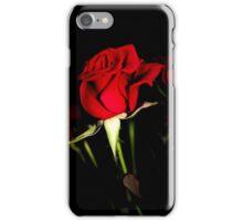Red Rose Bud iPhone Case/Skin