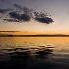 Lake Macquarie Sunset by Iain Pallot
