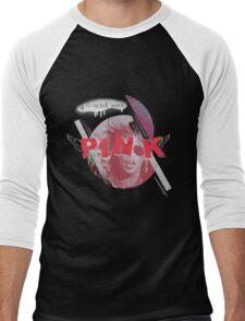 Pink is my favorite crayon Men's Baseball ¾ T-Shirt