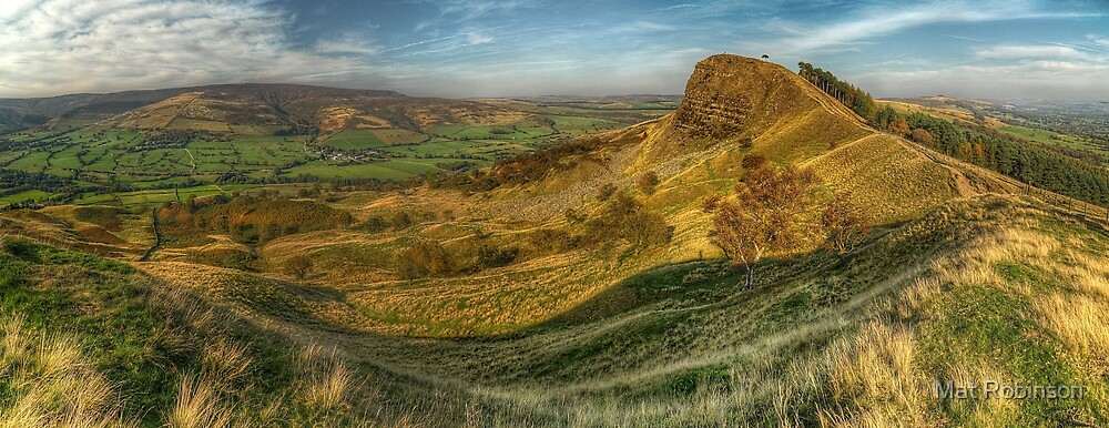 Back Tor Panorama by Mat Robinson