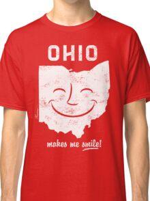 Ohio Makes Me Smile! Cool Vintage Retro Tee Classic T-Shirt